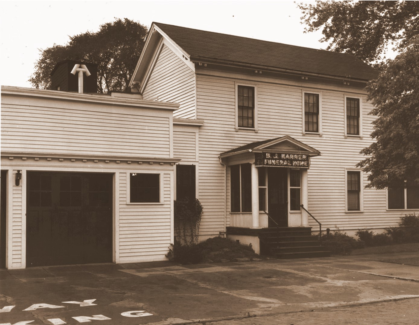 Karrer-Simpson Funeral Home 1923 to 1965